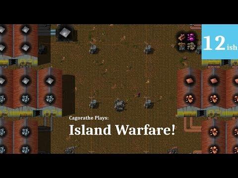 Mod Factorio - Island WAREFARE! - 12ish - Burning Resources