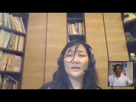 Rachel Su, Teacher Trainer, Taiwan with WOW on Global Collaboration Day