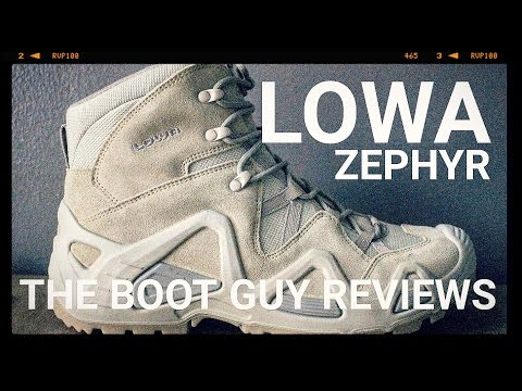 LOWA Zephyr Mid Style: 5105527648 [ The Boot Guy Review ]