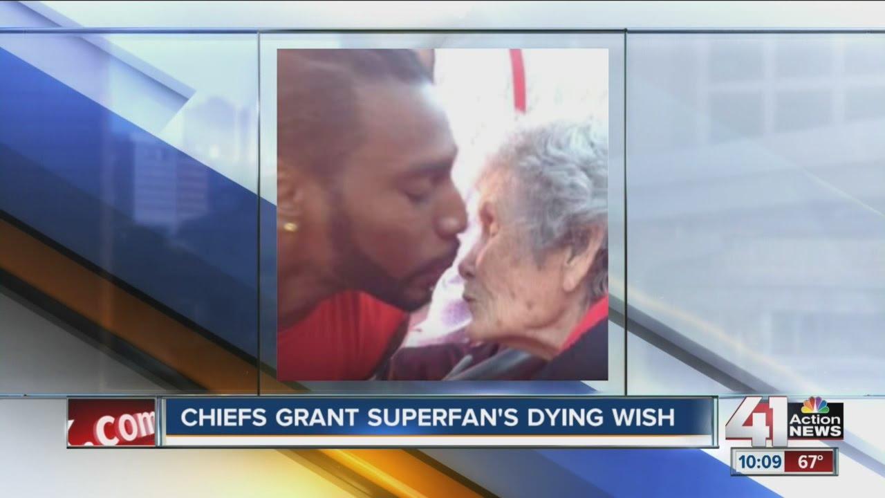 Kansas City Chiefs help superfan's wish come true
