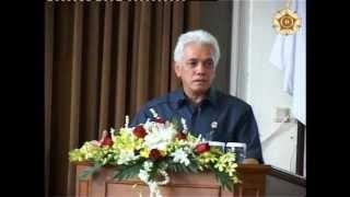 Pidato Ilmiah Menko Perekonomian RI tentang MP3EI