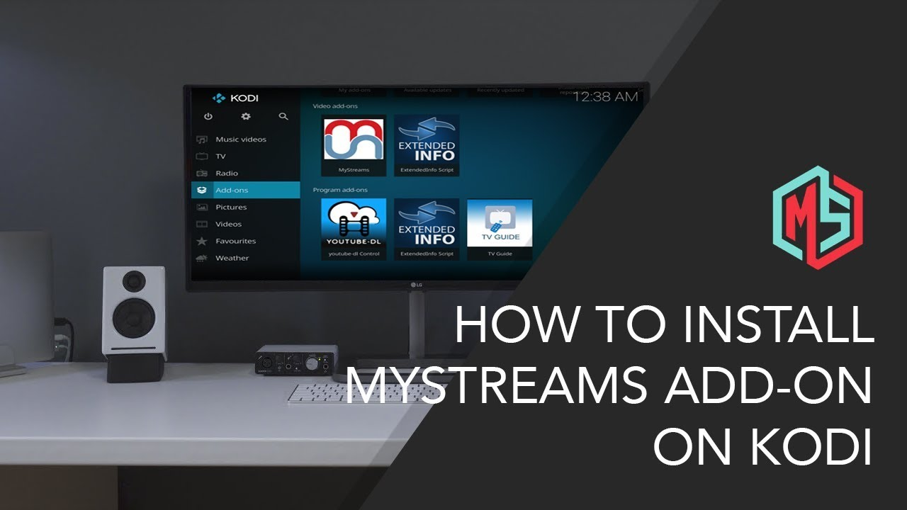 How to Install MyStreams Add-on on Kodi