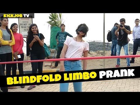 Ultimate Blindfold Limbo Prank || Prank in India