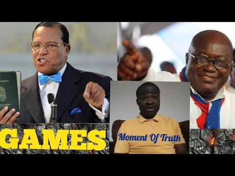 They say Luis Farrakhan Called Nana Akuffo Addo an Animal over $20 million Deal - Evangelist Addai