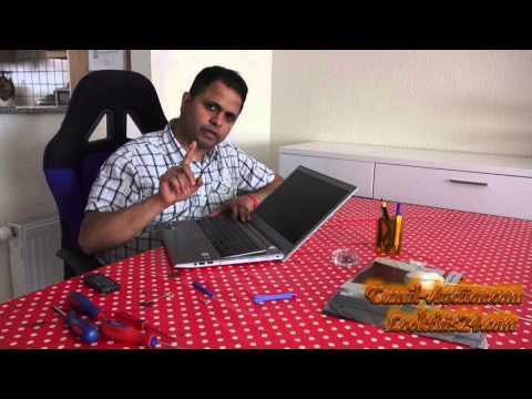 How To Exchange Laptop Battery Lenovo Ideapad Z500 In Tamil/தமிழ்