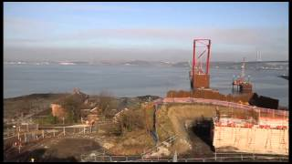 Queensferry Crossing - View from South Launch Area