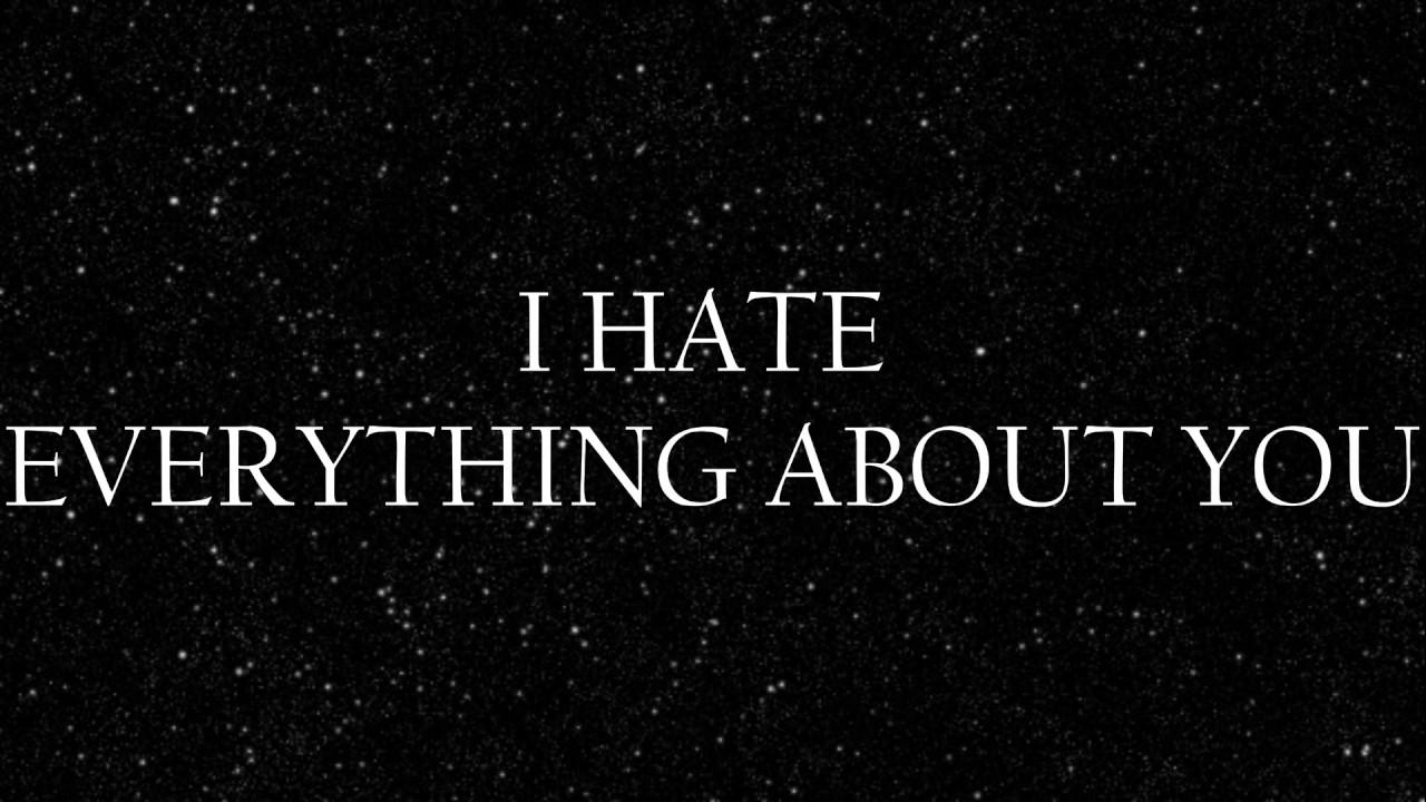 Three Days Grace – I Hate Everything About You Lyrics ...
