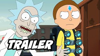 Rick And Morty Season 4 Trailer   New Scenes And Easter Eggs Breakdown