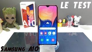 Samsung Galaxy A10 le test de l'entrée de gamme