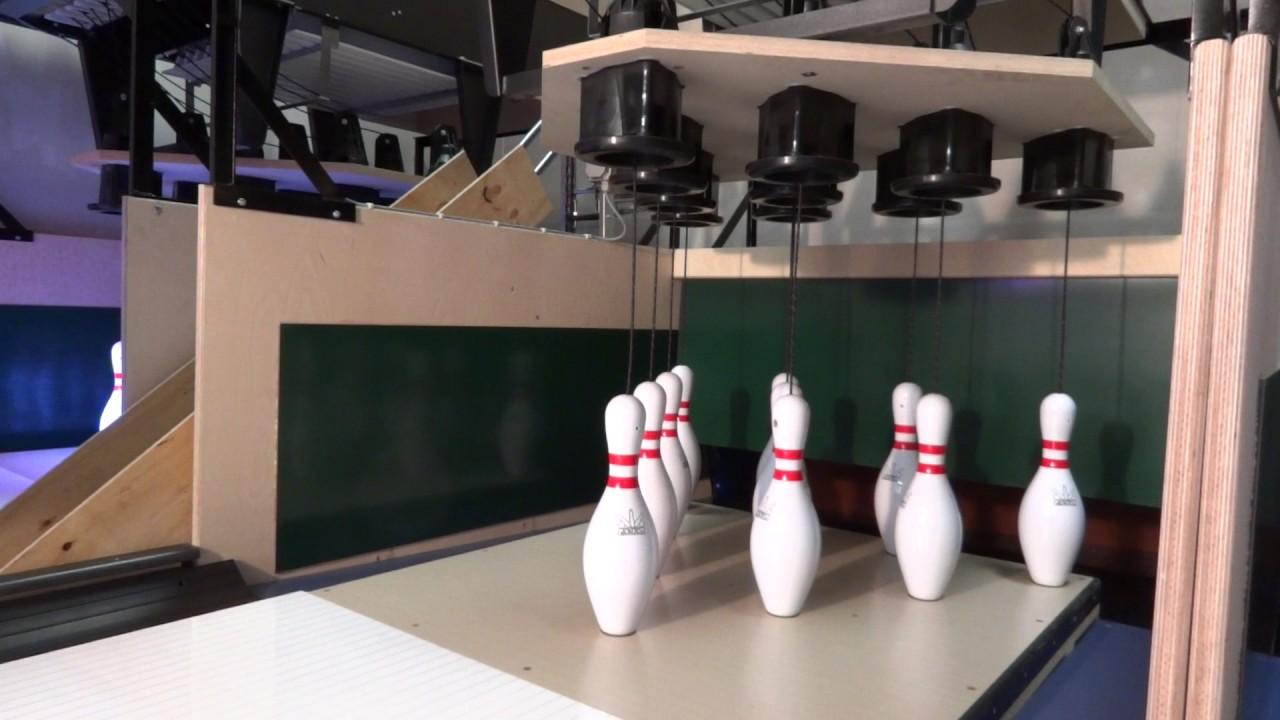 AHLBORN Leipzig ten pin bowling lane construction and lane technology