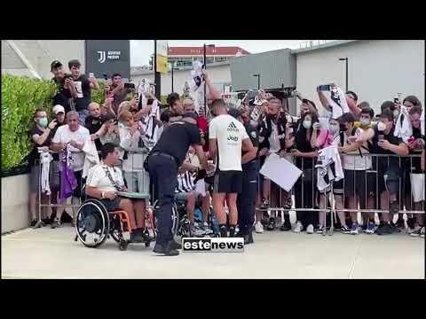 Juventus, Cristiano Ronaldo inizia le visite mediche