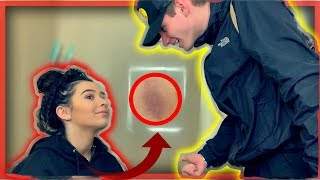 Hickey Prank on Boyfriend *HE WAS PISSED*