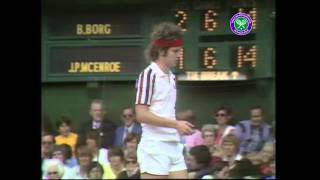 One of the greatest? Borg v McEnroe Wimbledon Final 1980