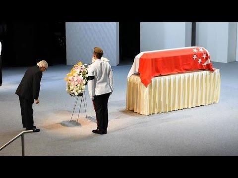 Hero's sendoff for Singapore's Lee Kuan Yew