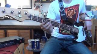 [Bass Cover] Little Less Conversation - Elvis vs jxl