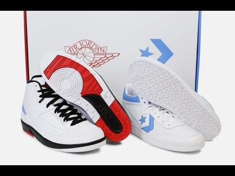 Converse Air Jordan 2 Pack Sneaker HONEST Review Detailed Look UNBOXING +  RIP Prodigy Of Mobb Deep