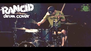 Rancid - Album 「And Out Come The Wolves...」 Ruby Soho drum cover ...