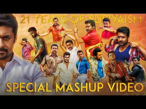21 Years Of SURIYAISM - Suriya Mashup - Tribute To Nadipin Nayagan - HD