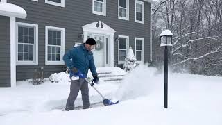 "Snow Joe 24V Cordless Rechargeable 11"" Snow Thrower & Cover on QVC"