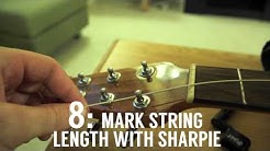 How To String an Ovation Acoustic Guitar