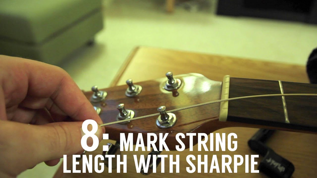hight resolution of how to string an ovation acoustic guitar
