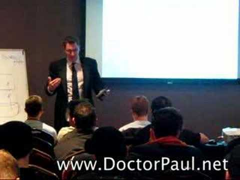 "Dr. Paul on ""Being Cool"" - Presented at Mystery's seminar"