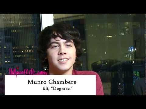 Munro Chambers Interview -- Degrassi Season 11, Part 2