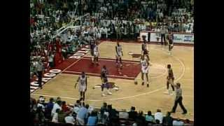 Scottie Pippen (20pts/10asts) Guards Magic Johnson (1991 Finals, Game 2)