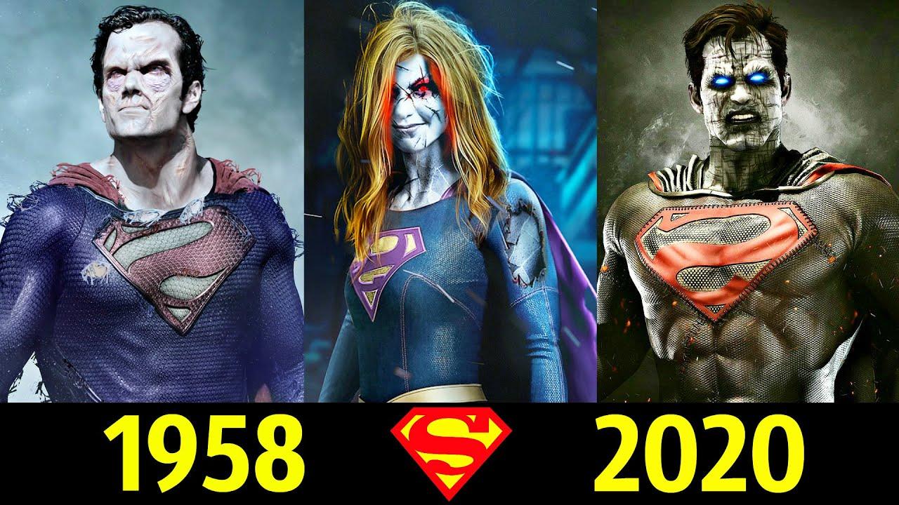😱 Бизарро - Эволюция (1958 - 2020) ! Все Появления Двойника Супермена 💪!