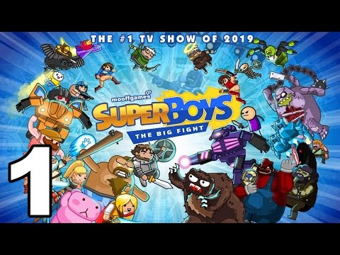 Super Boys: The Big Fight  Gameplay Walkthrough Part 1  Tower 1 iOS, Android