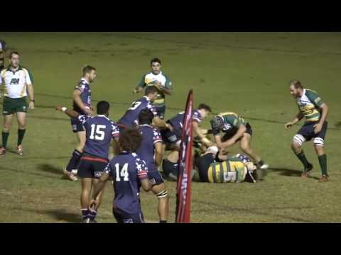 USA Rugby Collegiate All-Americans v Darling Downs