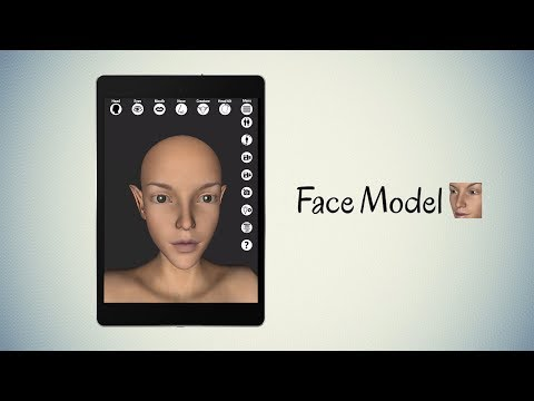 Face Model - Virtual 3D Human Head Pose Tool (Android, IPhone / IPad)