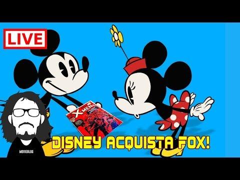 Live: La Disney Acquista La FOX!