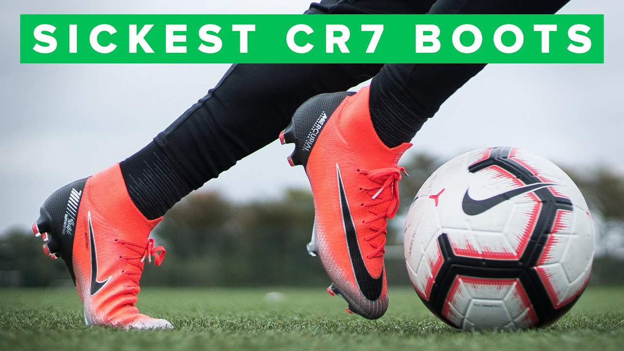 0d7d0ba0 LAST CR7 CHAPTER | Sick new Ronaldo football boots - YouTube