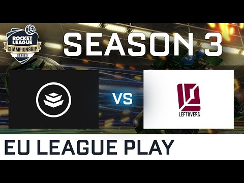 Team Secrecy vs The Leftovers EU League Play - RLCS S3