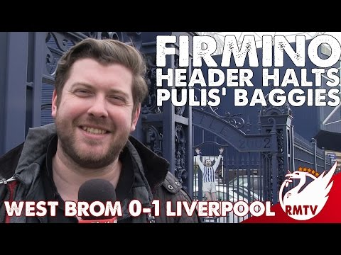 West Brom v Liverpool 0-1 |  Firmino Header Halts Pulis' Baggies | Uncensored Match Reaction