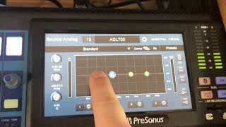 How to Use the Touchscreen on the Presonus StudioLive Series III