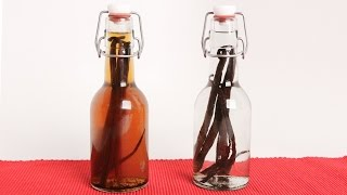 vuclip Homemade Vanilla Extract (Edible Gifts) - Laura Vitale - Laura in the Kitchen Episode 993