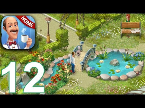 HOMESCAPES Story Walkthrough Gameplay Part 12 - Day 12 (iOS Android)