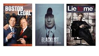 3 сериала: Юристы Бостона, Чёрный список, Обмани меня