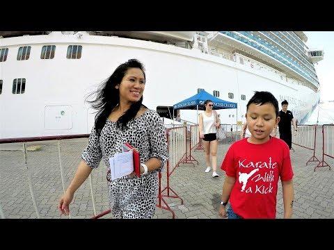 Laem Chabang Thailand Cruise Port Terminal Tour & Info (4K)