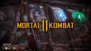 Mortal Kombat 11 Krypt - Kytinn Hive Puzzle Solution & How to Find the 3 Key Items