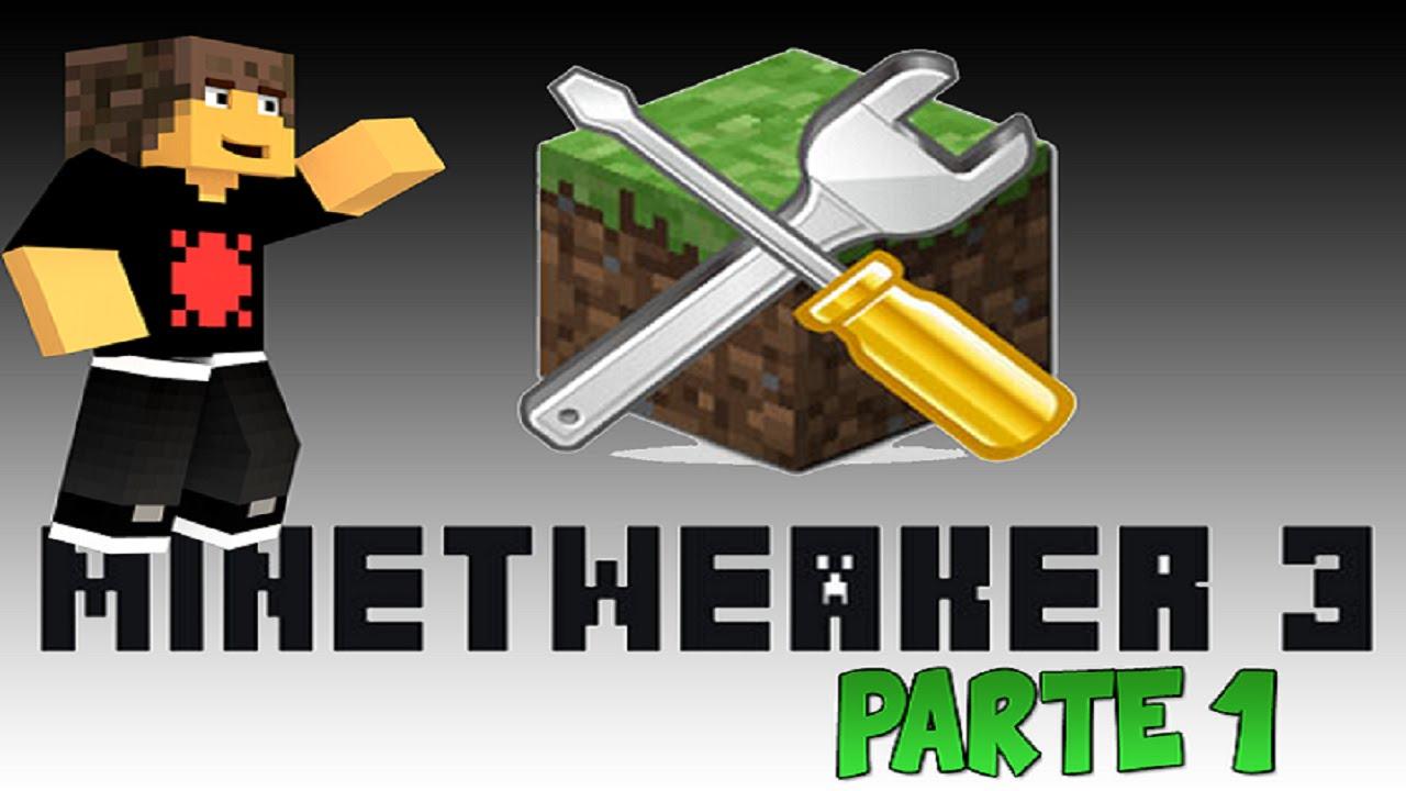 Modificando receitas do minecraft - Tutorial MineTweaker 3 Pt 1