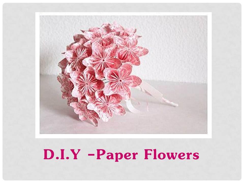 Diy origami paper flower origami flower for kusudama flower ball diy origami paper flower origami flower for kusudama flower ball youtube mightylinksfo