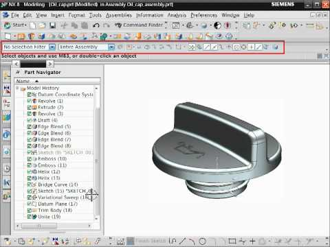 NX CAD Hints and Tips - The NX Standard Interface