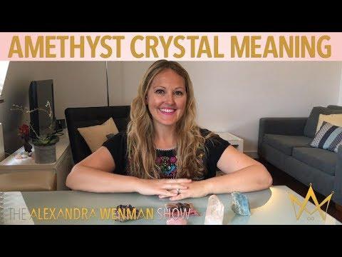 Amethyst Crystal Meaning: Healing Quartz Purple Amethyst