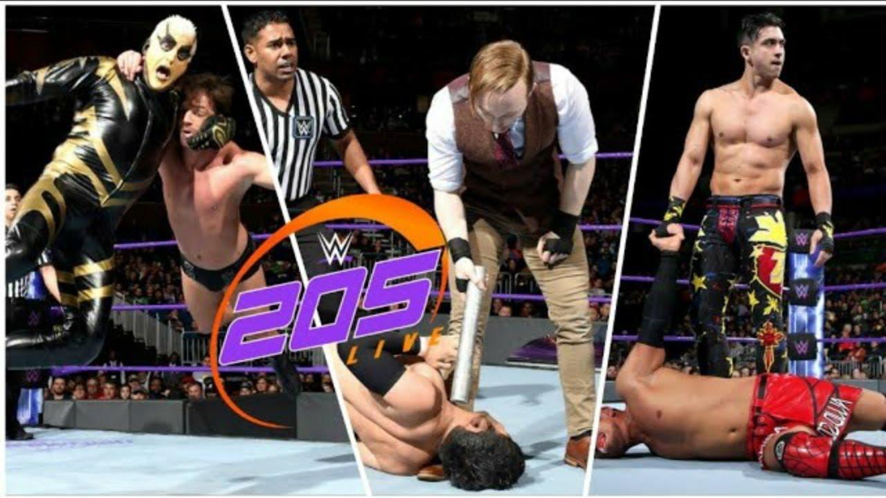 Download WWE 205 Live Highlights 2nd January 2018 HD - WWE 205 Live Highlights 01/2/18 HD