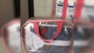 Комплект из трёх сумок в роддом