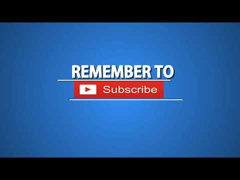 Intro YouTube Logo Green Screen Full HD 2019 Animated Subscribe Button