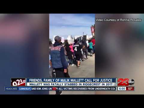 Friends, family of Malik Mallett call for justice